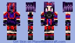 Yuuki - Gun Gale Minecraft Skin