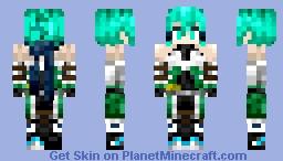 Sinon - Gun Gale Minecraft Skin