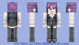 play bang dream girls band party Minecraft Skin