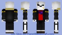 Keeper sans Minecraft Skin