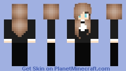 Luna Wedding Skin Minecraft Skin