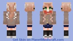 Monika | Doki Doki Literature Club Minecraft Skin