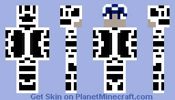 Techno boy Minecraft Skin