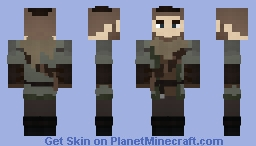 Dragon Age: Prologue/Mercenary Coat Minecraft Skin