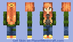 My First Skin!! Minecraft Skin