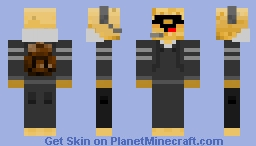 Potato Minecraft Skin