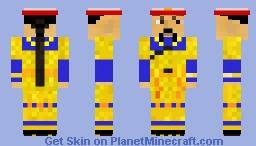 Qing Dynasty Emperor Minecraft Skin