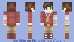 Strange Days - Xavier Kento -Raid Co~Captain- Minecraft Skin