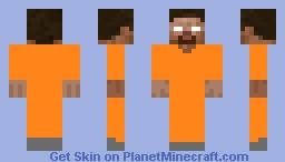 Herobrine  prisoner Minecraft Skin