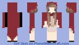 Lil` Red Riding Hood Minecraft Skin