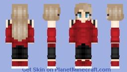 Blonde Teen Minecraft Skin