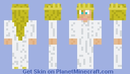 The princess  from The frog prince Minecraft Skin