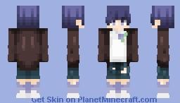 dis guy go blu - new shading style? Minecraft Skin