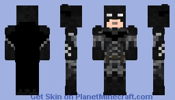Batman Arkham Knight batsuit V3.0 Minecraft Skin