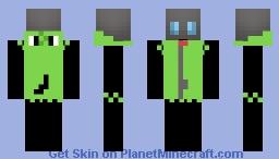 Invader Zim Gir (Hood Down) Minecraft Skin