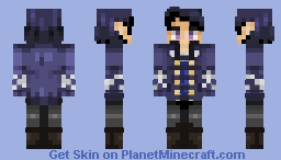 Rhysand ~ A Court of Thorns and Roses Minecraft Skin