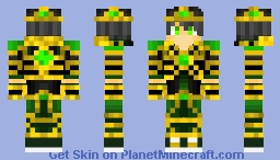 EmeraldKing123YT Minecraft Skin