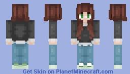 ℂ𝔸𝕊𝕌𝔸𝕃 ᵇʸ ᵒᵇˢᶜˣᵘʳᵃ Minecraft Skin