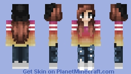 The Aesthetic of Sweaters Minecraft Skin