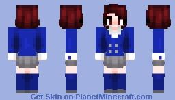 it's a beautiful freakin' day Minecraft Skin