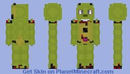 Springtrap Minecraft Skin