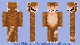 Wild tiger Minecraft Skin