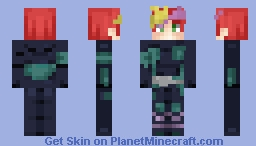 """The """"Playmaker""""   Request by Afrony Minecraft Skin"""
