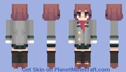 Uraraka Ochaco//My Hero Academia Minecraft Skin