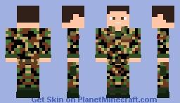 Swiss Army [Off Duty] Minecraft Skin