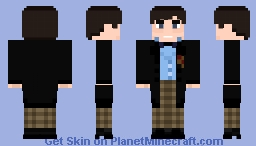 Doctor Who - The 2nd Doctor (the 3 doctor's) Minecraft Skin