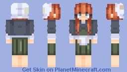 The Little Match Girl Minecraft Skin