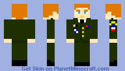 Me has US Army General (Class A) Minecraft Skin