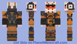 Titanfall 2 - Viper Minecraft Skin