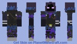Raven (Fortnite) Minecraft Skin