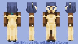 When a rock goes to a masquerade party. Minecraft Skin