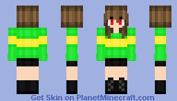 Chara~ (Undertale) Minecraft Skin