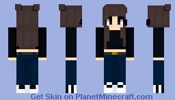 City Girl Minecraft Skin