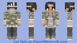 Soldier Boy Minecraft Skin