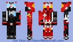 Kamen Rider Drive Type Tridoron 仮面ライダードライブ・タイプトライドロン Minecraft Skin