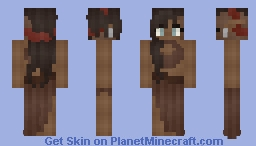 𝓡𝓸𝔃𝒆    Medieval   Part Orc Minecraft Skin