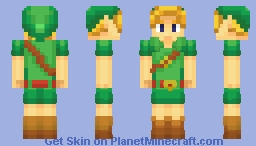 Young Link Minecraft Skin