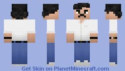 Narcos - Pablo Escobar Minecraft Skin