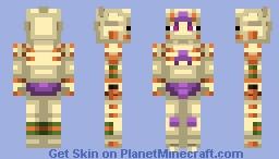 Gold Experience Requiem   Vento Aureo Minecraft Skin