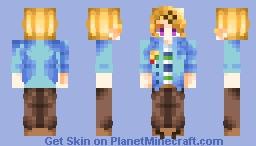 ⚠️Hei..  I wish I Could Go Back In Time To See Her..⚠️ [Mystic Messenger | Yoosung Kim | + Alternates WIP] Minecraft Skin
