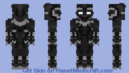 Black Panther(Avengers: Infinity War) Minecraft Skin