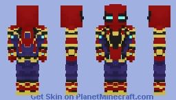 Spider-Man(Avengers: Infinity War) Minecraft Skin