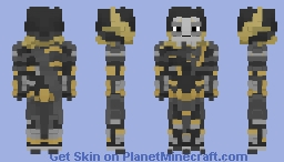 Corvus Glaive(Avengers: Infinity War) Minecraft Skin