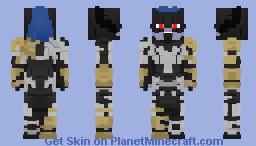 Proxima Midnight(Avengers: Infinity War) Minecraft Skin