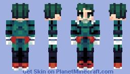 Izuku Midoriya [Boku no Hero Academia] Minecraft Skin