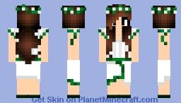 Jungle Girl 1 Minecraft Skin